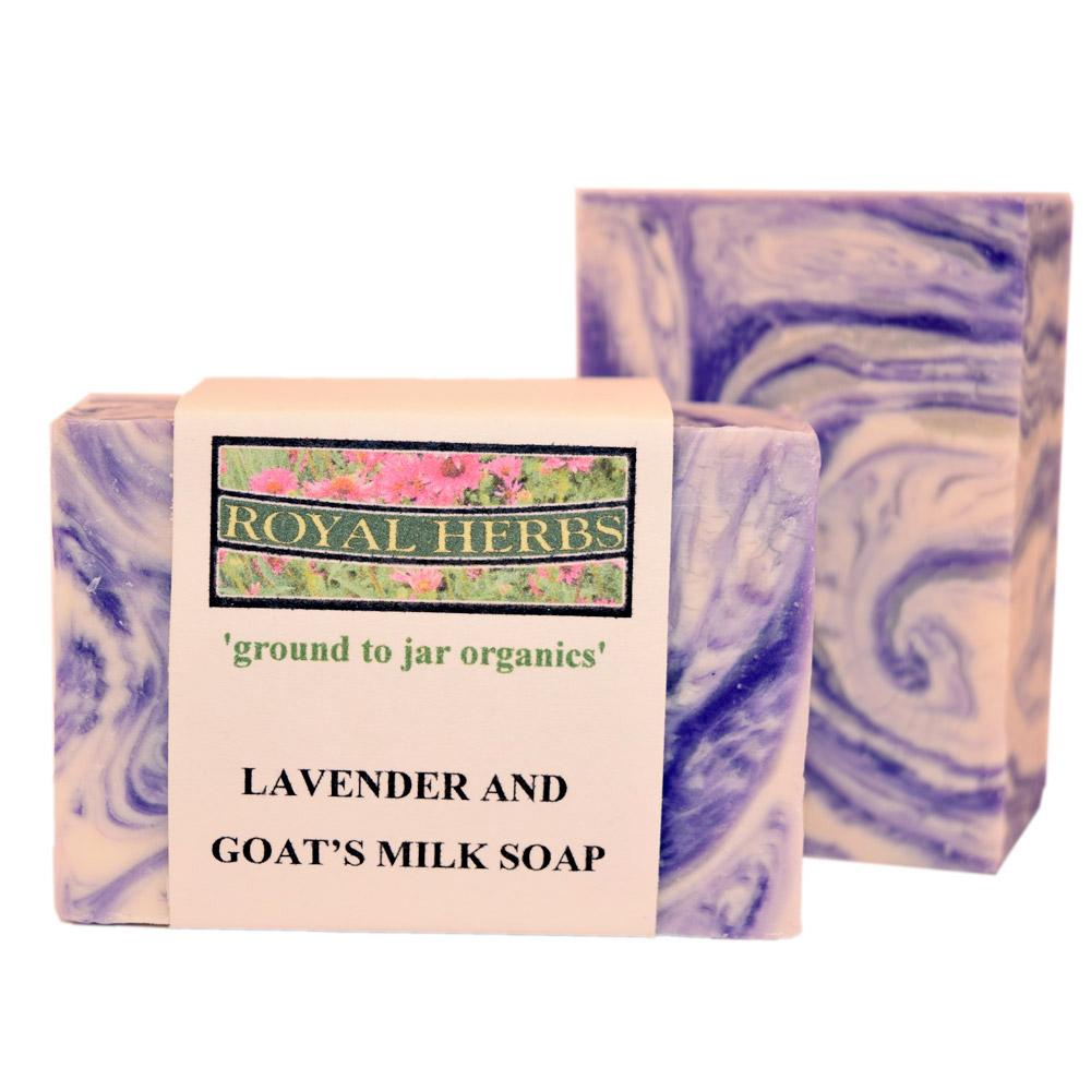 Lavender and Goats Milk Bar Soap