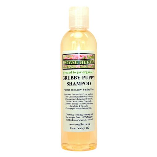 Grubby-Puppy-Shampoo-Royal-Herbs